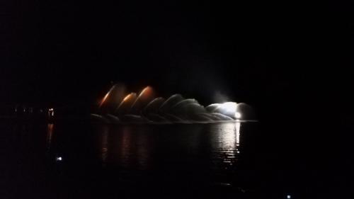 1. Hasičská fontána na Stříbrňáku